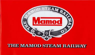 """The Mamod Steam Railway Co."" product list rear cover"