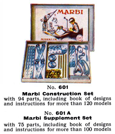 Marbi set 601 and 601A