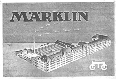 The Marklin factory, image from the 1932 catalogue