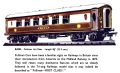 Mary First Class Pullman carriage, Tri-ang Railways R-228 (TRCat 3rd 1957).jpg