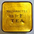 Mazawattee Tea tin, base, 1lb for 2-.jpg