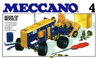 "1978: ""Fred"" (i.e. ""Ford"") Tractor, Meccano Book of Models 4"