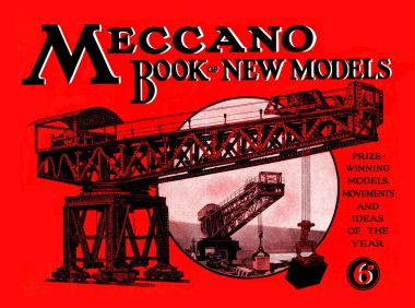 Meccano Book of New Models, 1930