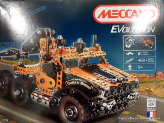 Meccano Evolution set 7200, Tow Truck, box front