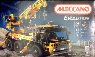 Meccano Evolution set 8200, Crane Truck, box front