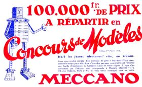 1935: Meccano competition