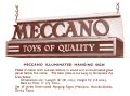 Meccano Illuminated Hanging Sign, Meccano Display Model (MDM 1957).jpg