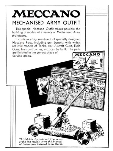 1941: Meccano Mechanised Army Outfit, Meccano Magazine
