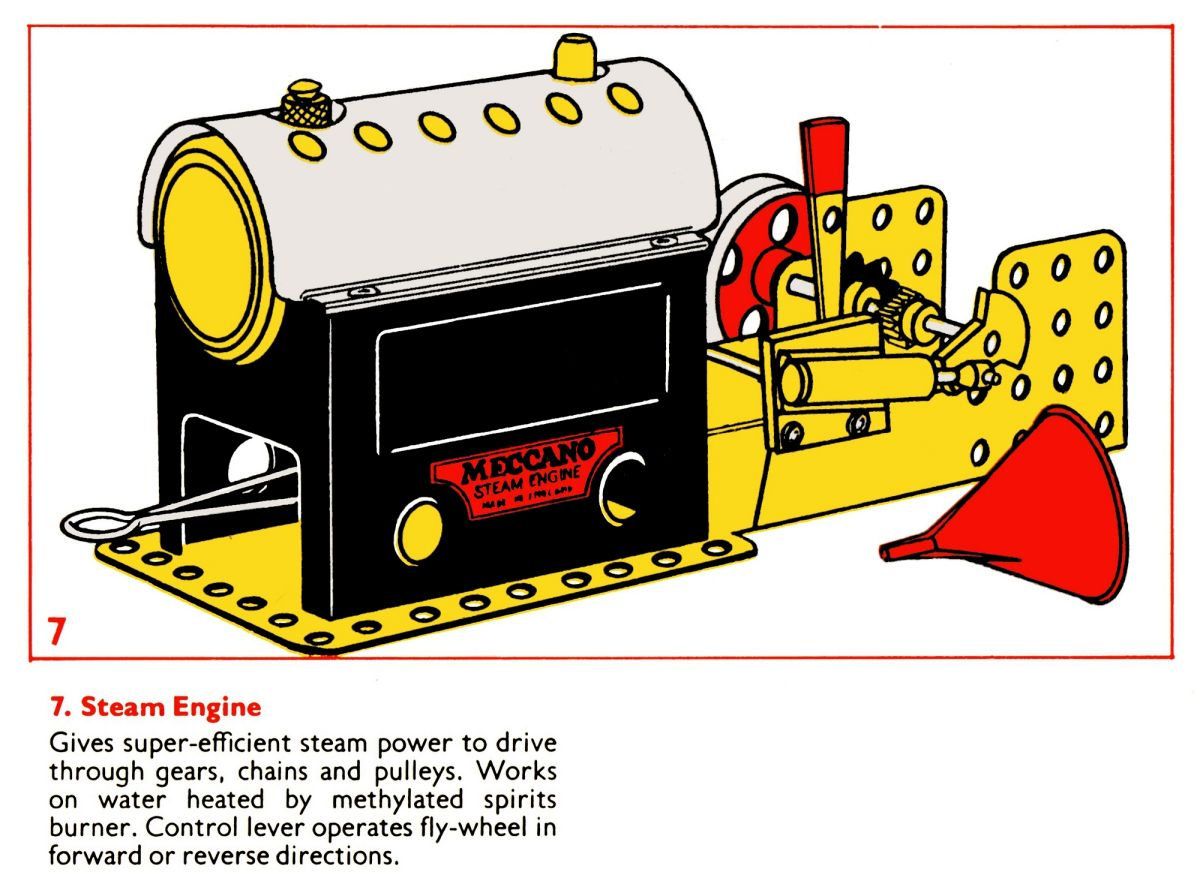 Meccano Steam Engine Mamod For The Brighton Toy And Motor Reversing Switches Electronics In Model Index