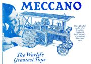 1943: An earlier version of the Meccano traction engine design