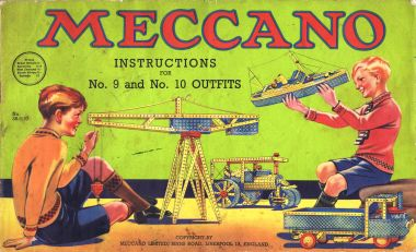 Meccano instruction manual, 1930s