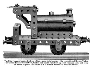 "Hornby Trains ""Meccano"" prototype, side view"
