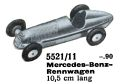 Mercedes-Benz-Rennwagen - Racing Car, Märklin 5521-11 (MarklinCat 1939).jpg