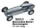 Mercedes-Benz-Rennwagen - Racing Car, Märklin 5521-1 (MarklinCat 1939).jpg