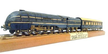 "Micromodels ""Coronation Scot"" (from sets MII and X), perspective view"