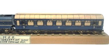 Assembled Coronation Scot coach from Micromodels Set X