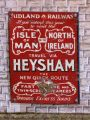 Midland Railway travel via Heysham, enamelled tinplate miniature poster.jpg