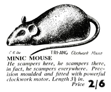 1951: Minic Mouse