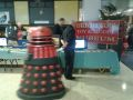 ModelWorld 2013, BTMM stand with passing Dalek.jpg