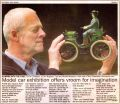 Model car exhibition offers vroom for imagination (Argus 2003-04-15).jpg