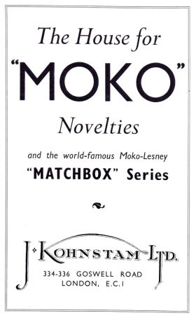 1956 Moko-Lesney trade advert