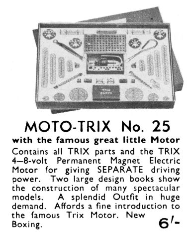 1938: Trix Construction Set No.25