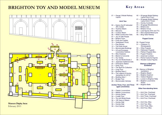 Museum layout (2013)