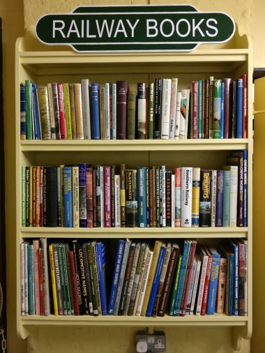 New additional secondhand books shelf, June 2014