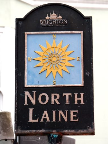 North Laine signage