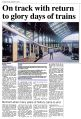 On track with return to glory days of trains, 5BEL Trust, Brighton Belle in Brighton Station (Argus, 2015-09-03).jpg