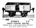 Open Goods Truck, with hinged door, Märklin E1962-0 (MarklinCRH ~1925).jpg