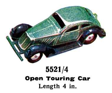 "1936: Open Touring Car from the ""5521"" range, 5521/4"