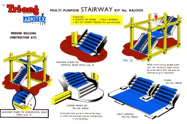 Arkitext Multi Purpose Stairway Kit, 00-scale version