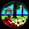 Pavilion Gardens (stained glass at Brighton Palace Pier).jpg