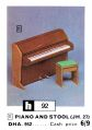 Piano and Stool JH27, Jennys Home (Hobbies 1967).jpg