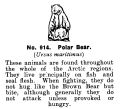 Polar Bear, Britains Zoo No914 (BritCat 1940).jpg