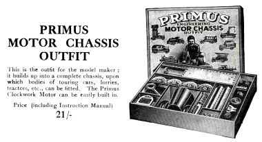 1924: Primus Motor Chassis Outfit