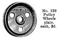 Pulley Wheels, Primus Part No 159 (PrimusCat 1923-12).jpg
