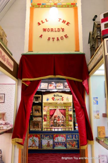 The entrance to Puppet Corner