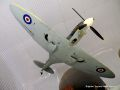 Quarter-scale r-c Supermarine Spitfire fighter plane.jpg
