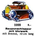 Raupenschlepper mit Uhrwerke - Tracked Tractor with Clockwork, Märklin 1088 (MarklinCat 1939).jpg