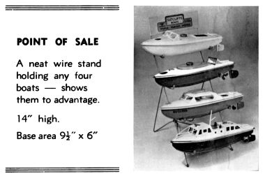 1978: Retailer's Boat Display Stand