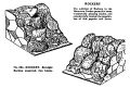 Rockery, Straight Section assorted, two kinds, Britains Garden 054 (BMG 1931).jpg