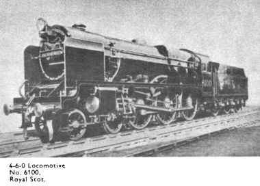 1933: Angled view of the Royal Scot