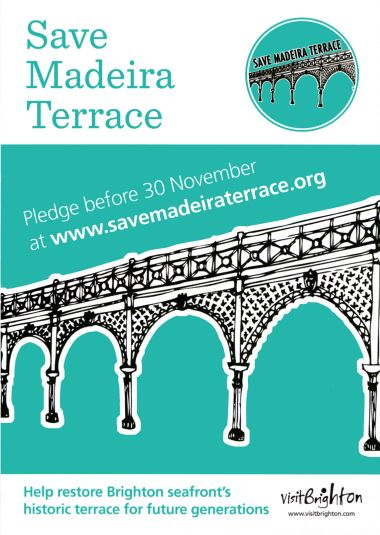 "2017: ""Save Madeira Terraces"" leaflet"