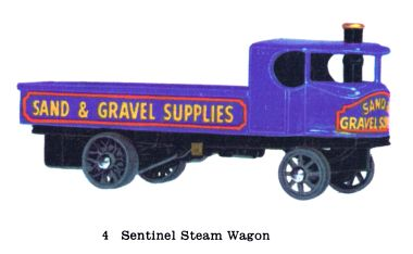 Matchbox Y4 Sentinel Steam Wagon