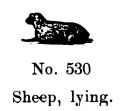Sheep, lying, Britains Farm 530 (BritCat 1940).jpg