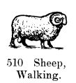 Sheep, walking, Britains Farm 510 (BritCat 1940).jpg