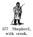 Shepherd, with crook, Britains Farm 577 (BritCat 1940).jpg