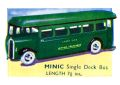 Single Deck Bus, London Transport Triang Minic (MinicCat 1937).jpg